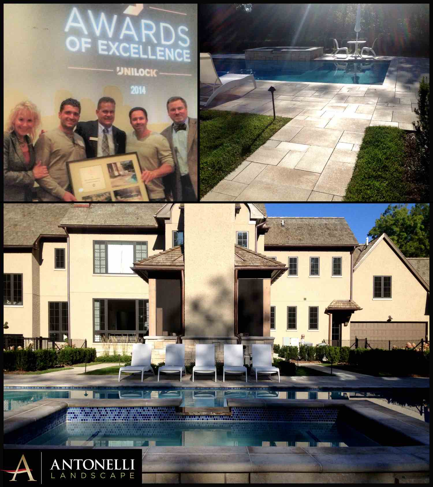 Unilock 2014 Best Contemporary Project - Bloomfield Hills