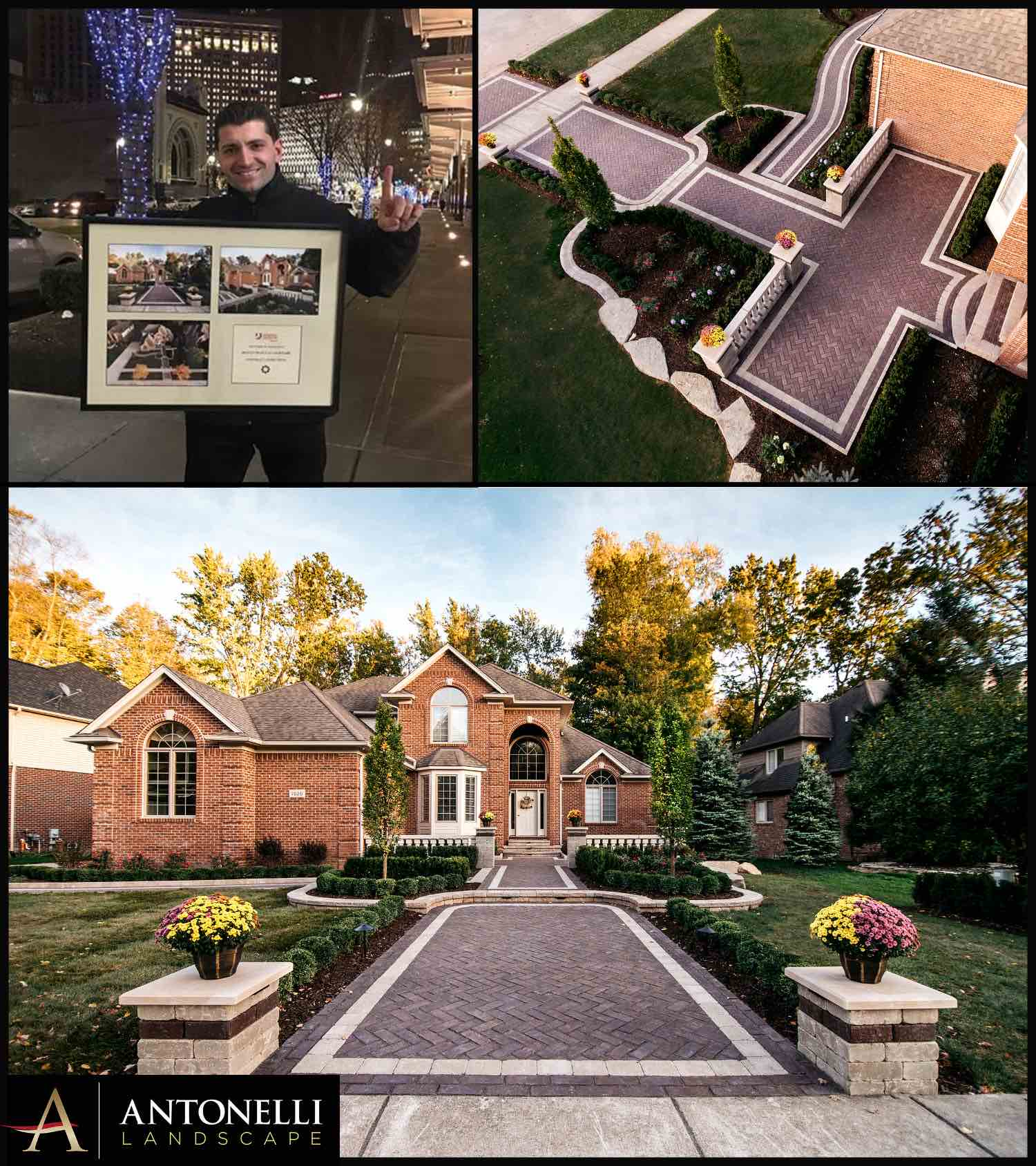 Unilock 2018 Best Entrance - Shelby Township